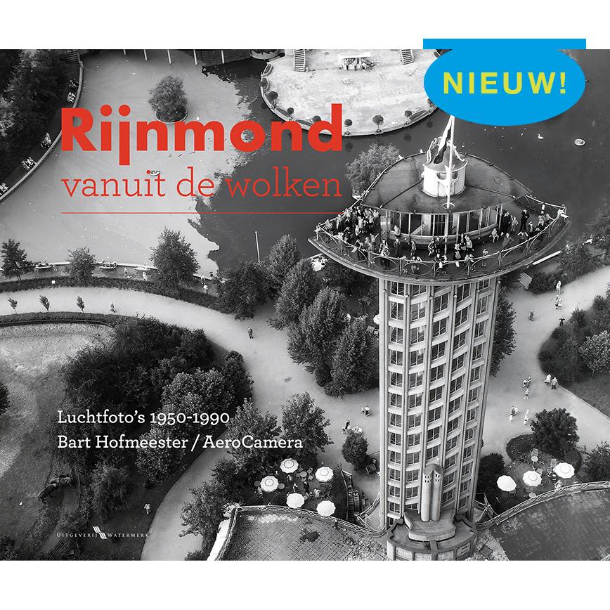 Rijnmond vanuit de wolken uitgeverij Watermerk